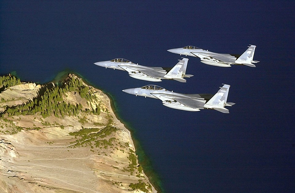 Watch As Aircraft From Around The Country Come Together For One Of The Largest Air National Guard Air To Air
