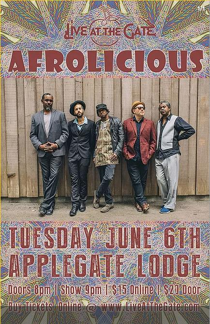Amazing Afrolicious At The Applegate River Lodge
