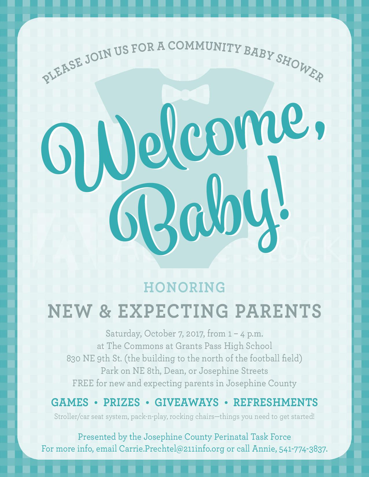 Up ing Events – Wel e Baby munity Baby Shower at the